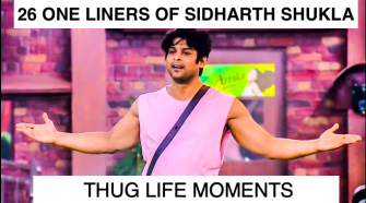 Sidharth Shukla One liners