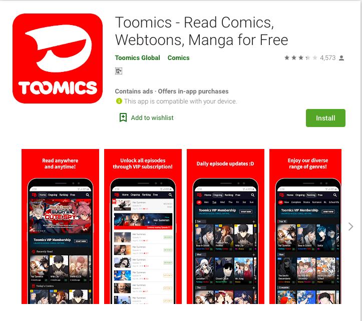 Toomics - App